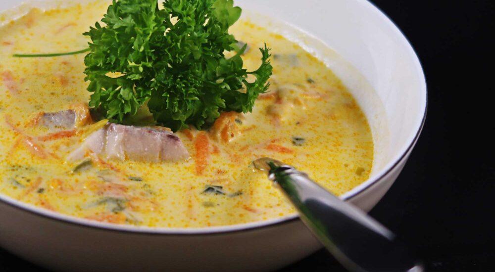 enkel fisksoppa