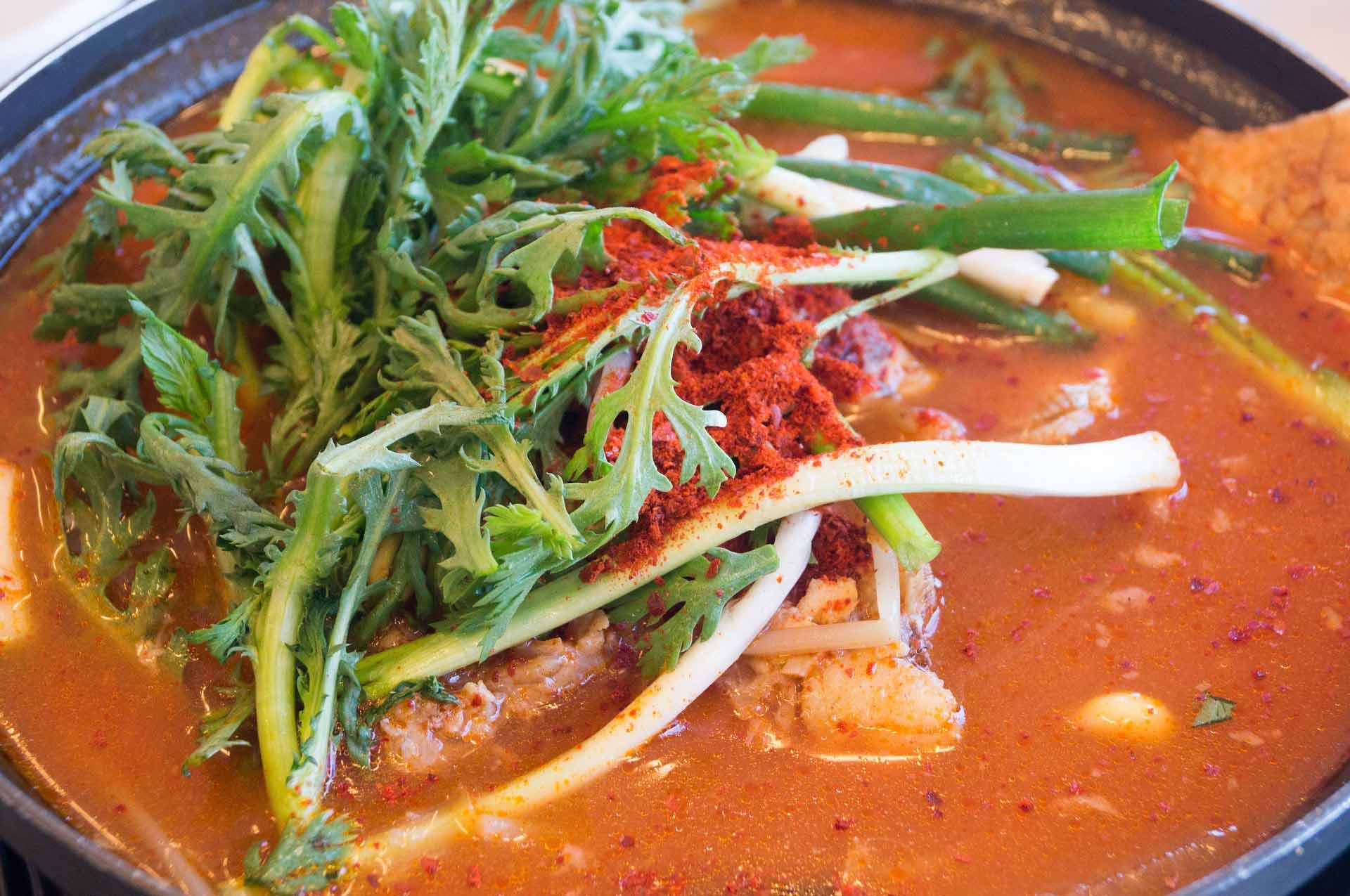 Kryddig fisksoppa