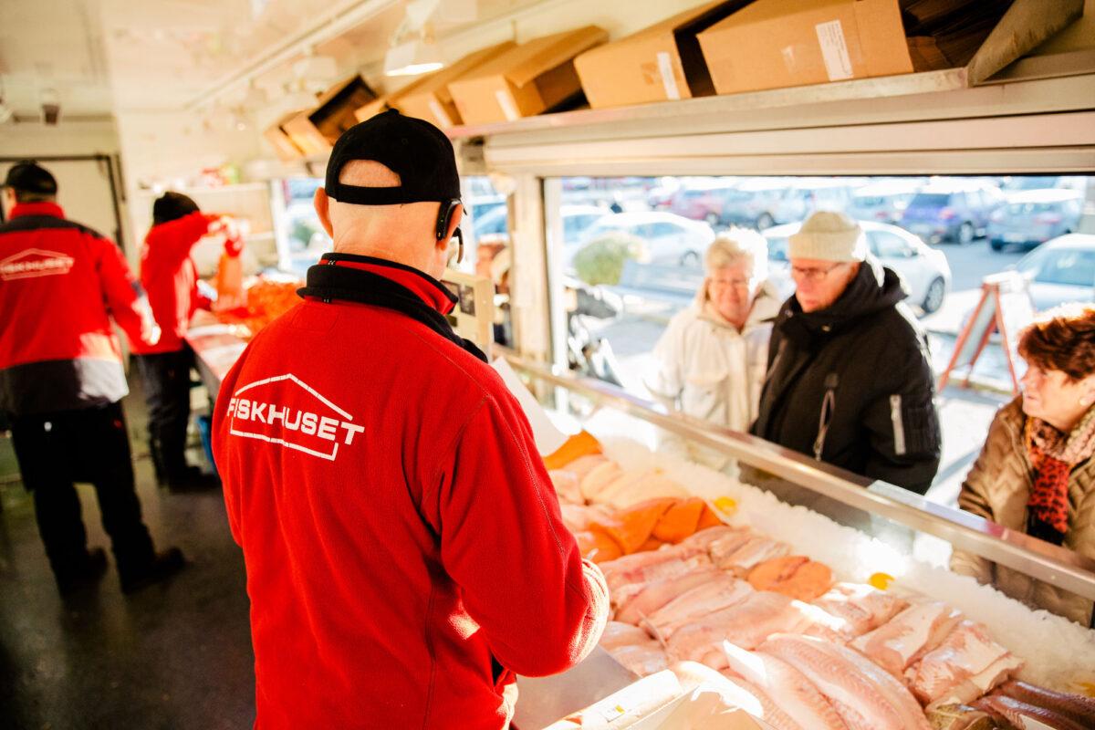 Bra service och god fisk hos Fiskhuset