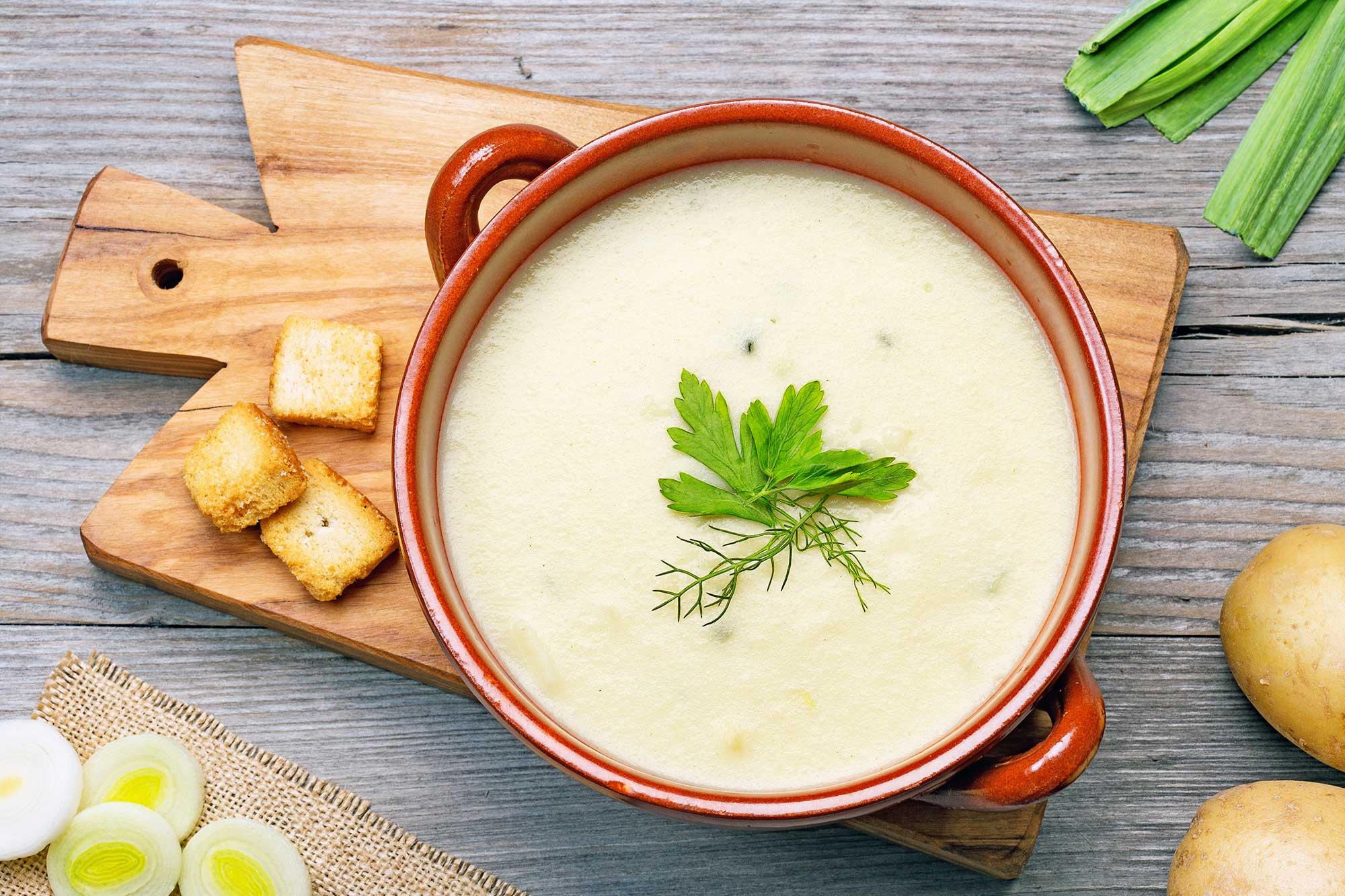 soppa till lunch