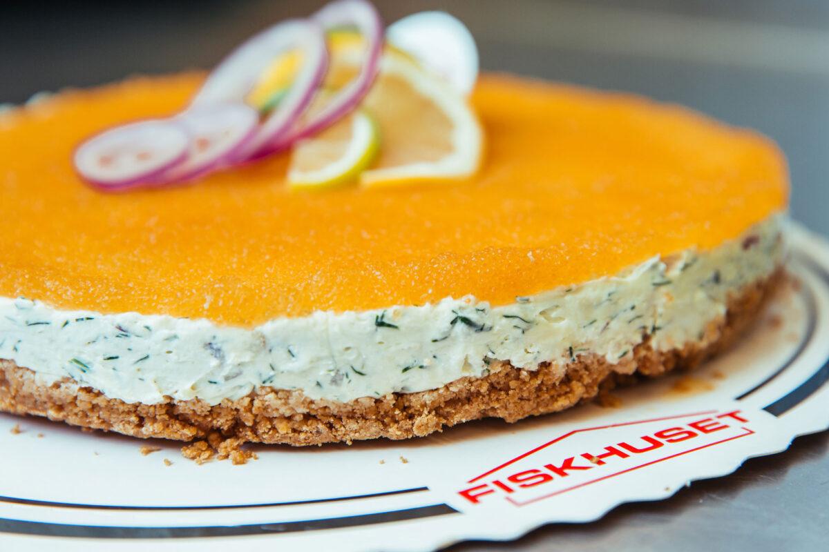 räkcheesecake med rom